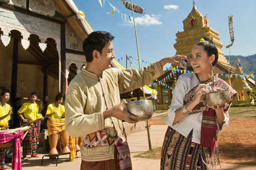 วันสงกรานต์ วันปีใหม่ไทย